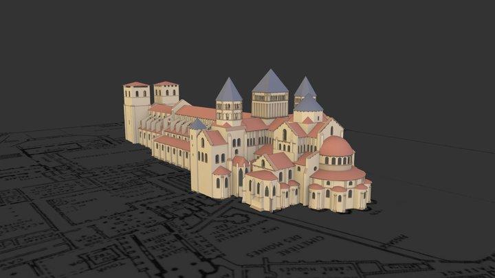 Cluny / Maior Ecclesia 3D Model