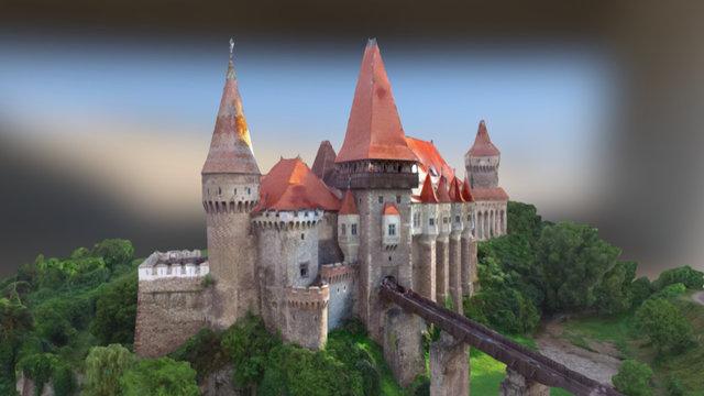 Castelul Corvinilor 3D Model