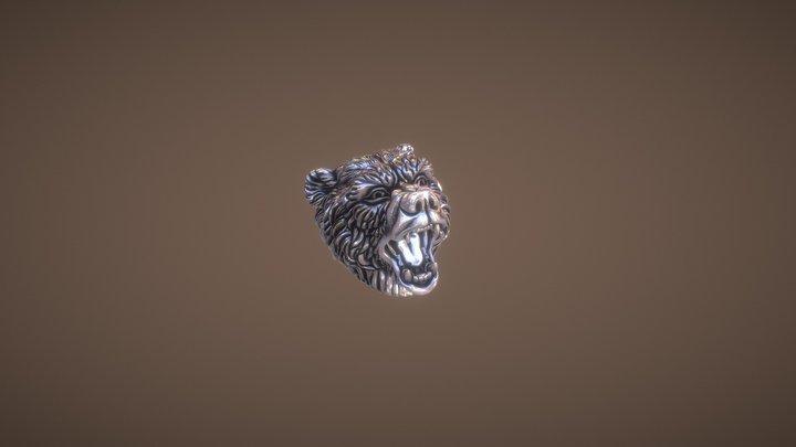 Ursa Head Printable model 3D Model