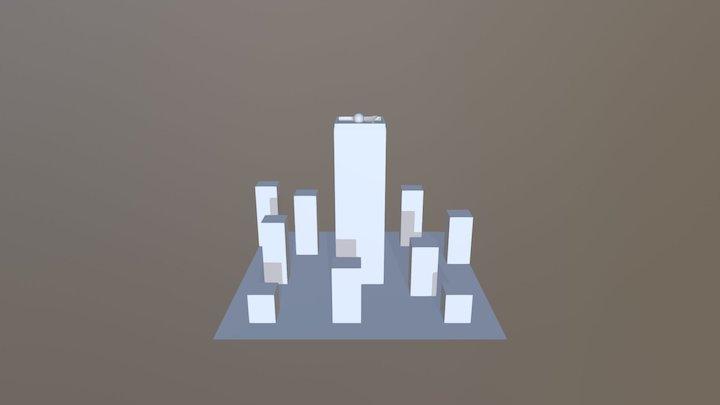 Grey-box 3D Model