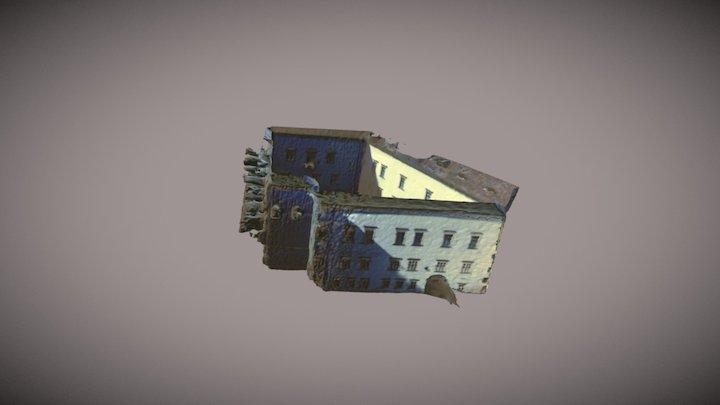 Cetatea Făgăraș - curtea interioară 3D Model