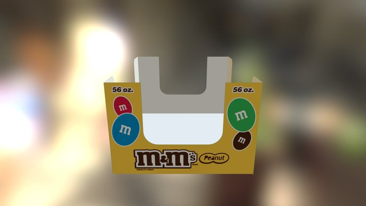 M&M Tray Mechanical foldup 3D Model