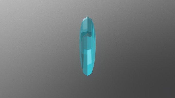 Crystal empire - Crystal Heart - MLP 3D Model
