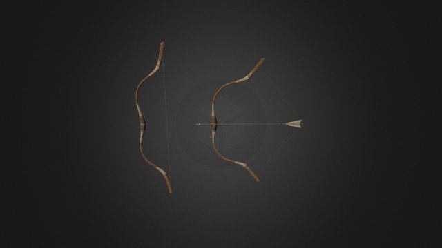 Sagittarii - Roman bow 3D Model