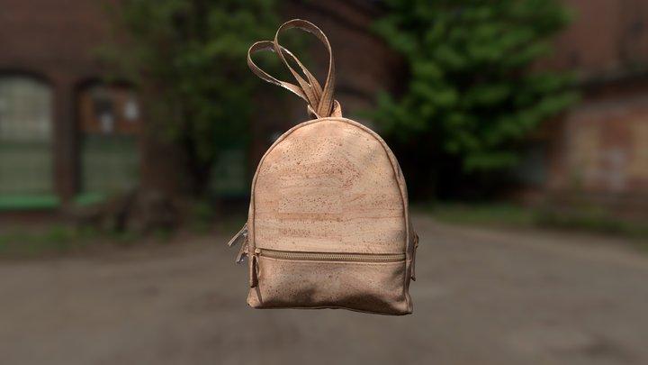 Bag in cork. 3D Model