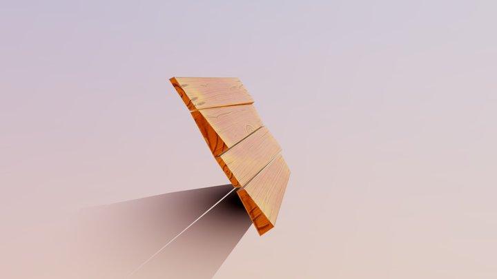 Stylized Boards 3D Model