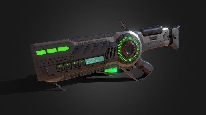 X12 Plasmacaster 3D Model