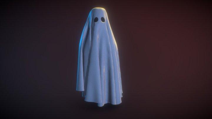 Ghost Cloth 3D Model