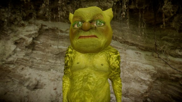 Ogre from iClone 3D Model