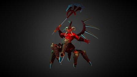 Daemon 3D Model