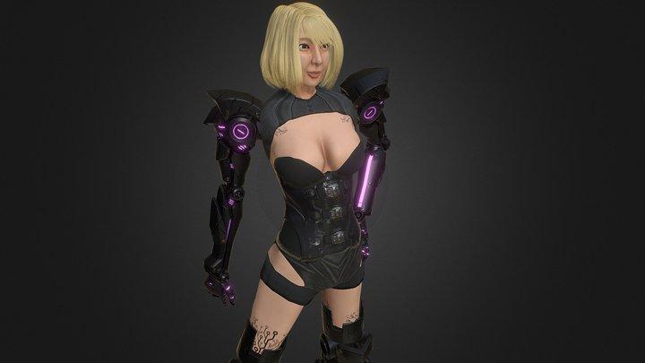 Chocoborg 3D Model