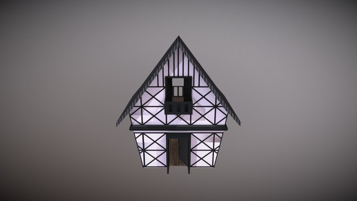 House Style Europe 3D Model
