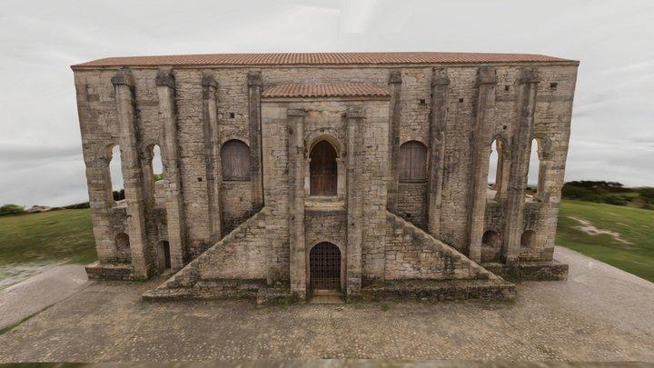Church of St Mary at Mount Naranco (year 848) 3D Model