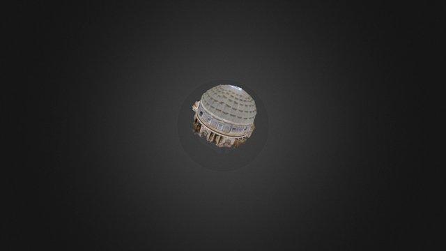 Panthéon 3D Model