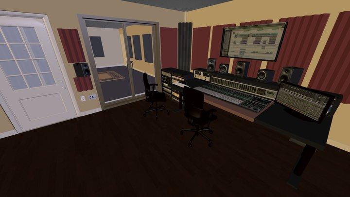 MPRA Recording Studio 3D Model