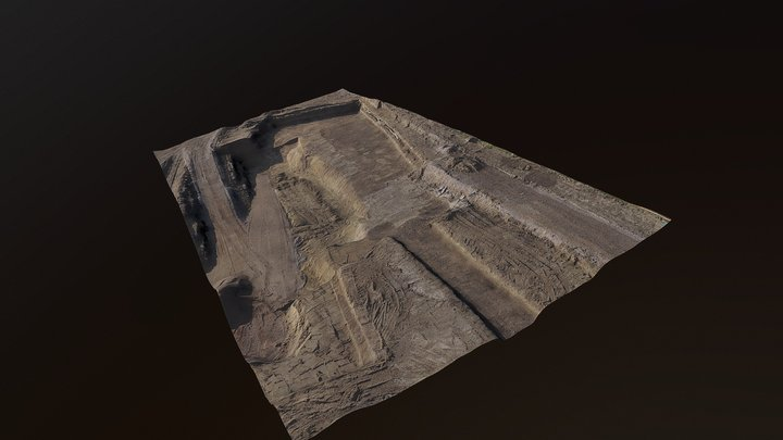 Rilievo in cantiere -ritrovamenti archeologici 3D Model