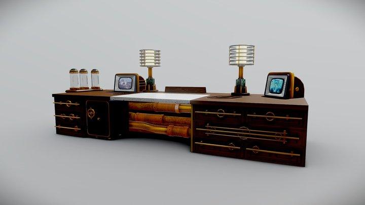 Table Homework 3 1 3D Model