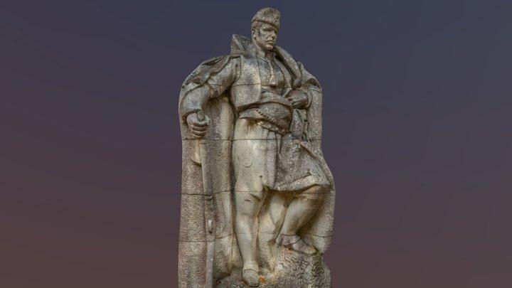 Hadzhi Dimitar Statue 3D Model
