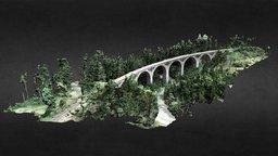 """Viadukt """"Finsterer Grund"""" 3D Model"""