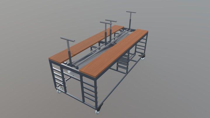 TAULA COLADA Render - Sr Castells 3D Model