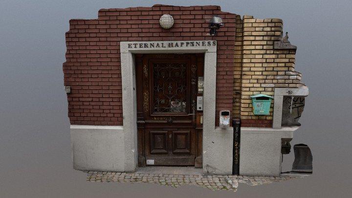 City Door-Eternal Happines 3D Model