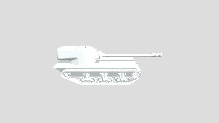 Heavy Tank 3D Model