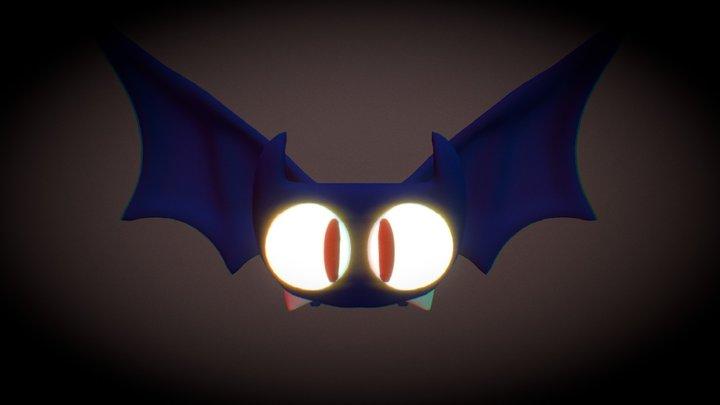 Little halloween bat 3D Model