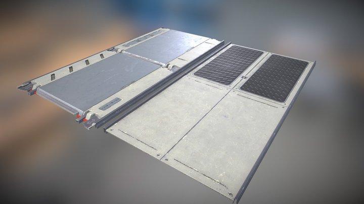 Floor Panels 3D Model