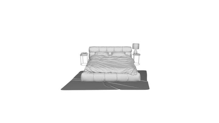 Bed 160x200 Mobili R. DG-HOME 3D Model