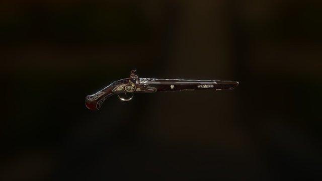 Osmanli Pistol 3D Model