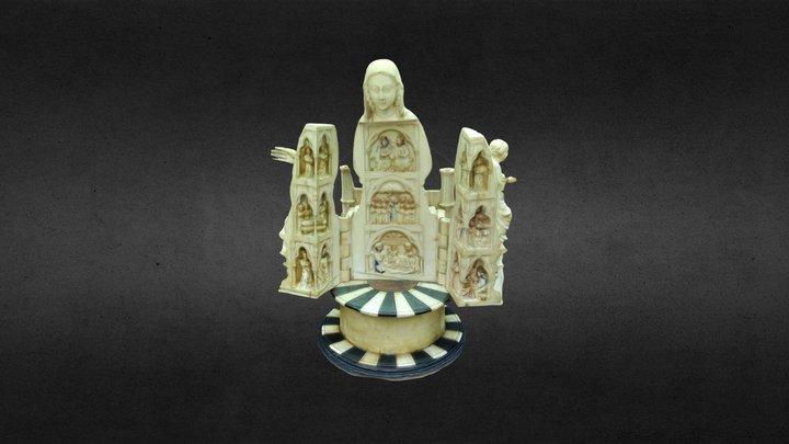 A Virxe Abrideira de Allariz en #galicia100 3D Model
