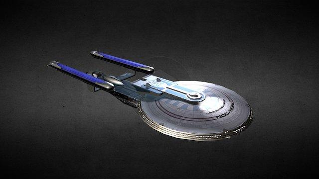 Excelsior Class Battlecruiser 3D Model