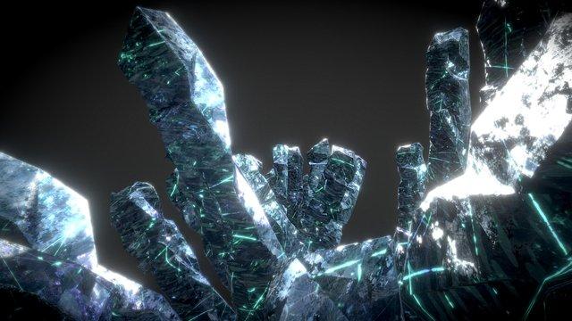 Generic Cristal Clusters 3D Model