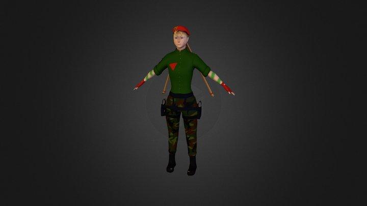 cammy_final 3D Model