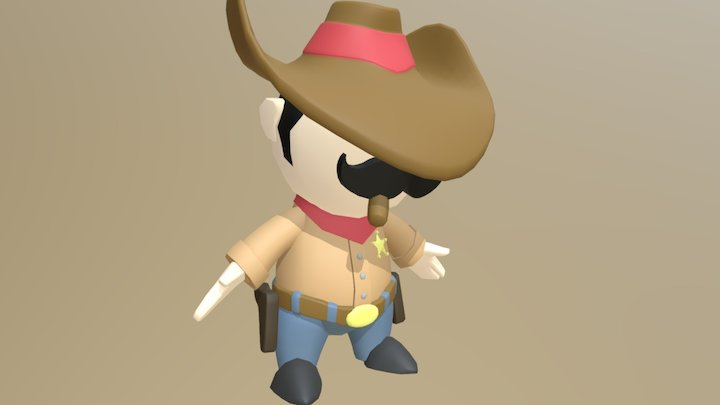 Sherif 3D Model