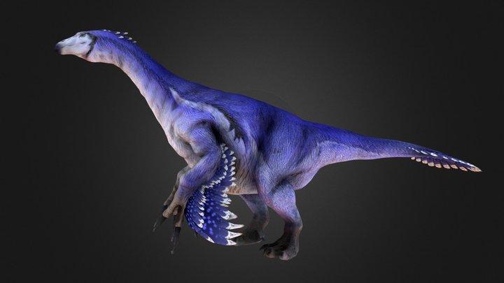 Therizinosaurus 3D Model