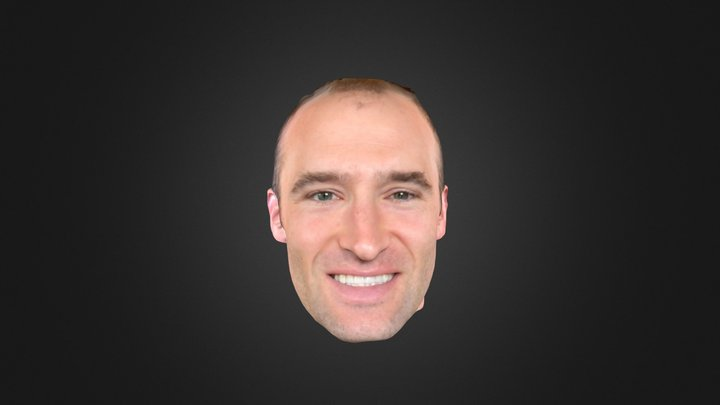 Bellus3D FaceApp For IPhone X 3D Model