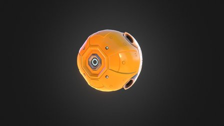 Cosmic Trip - Assault Drone 3D Model