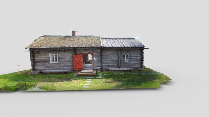 Turkansaari (raw) 3D Model