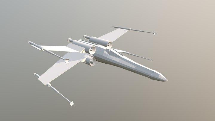 Xwing 3D Model