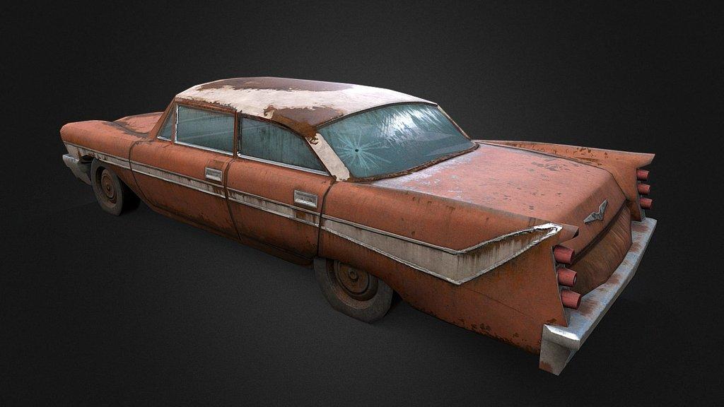 Old Rusty Car 2