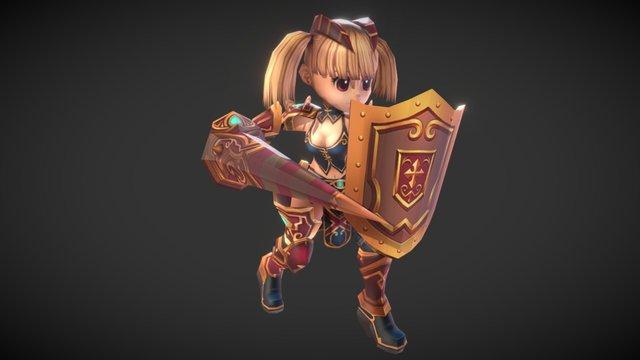 Little Soldier 3D Model