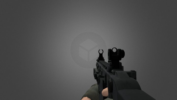 Kriss Vector Animated( Free) 3D Model