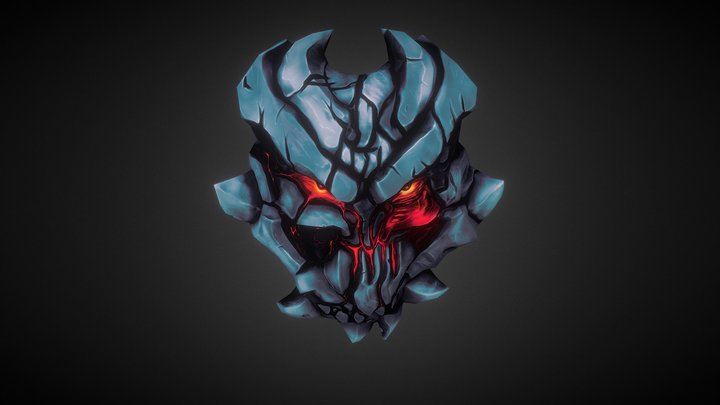 Evil Mask 3D Model