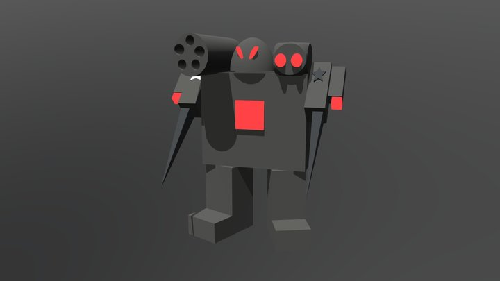 War Machine Buster By George Lee 3D Model