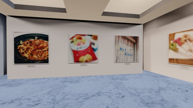 Instamuseum for @ryo_ito 3D Model