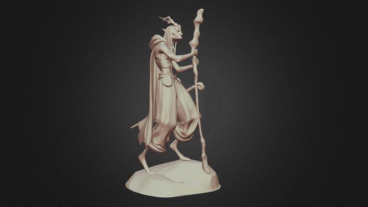 Goblin - A Tim McBurnie Original Concept 3D Model