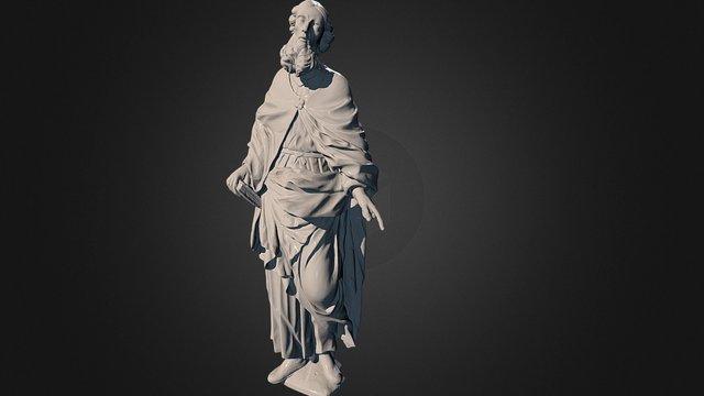 Sculpture of St. Joachim 3D Model