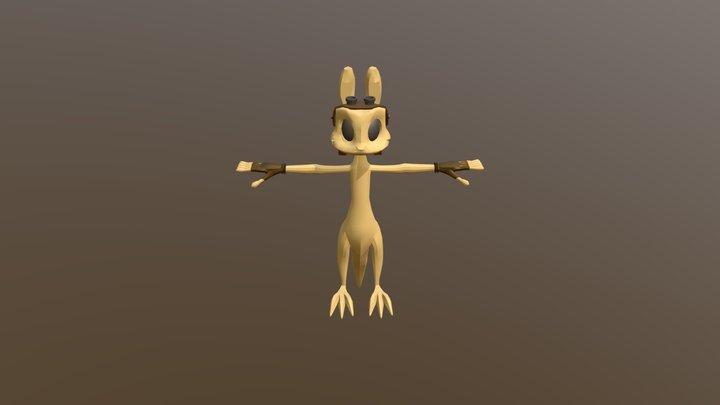 Daxter 3D Model