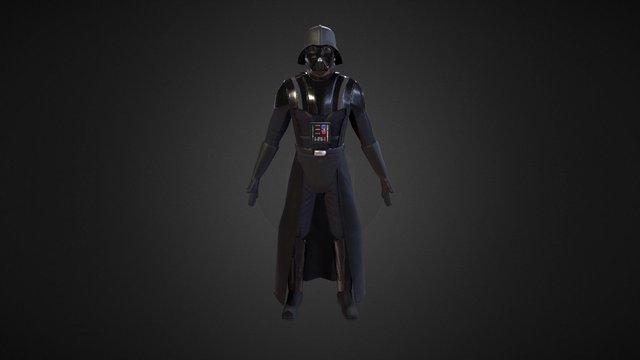 Darth Vader 3D Model